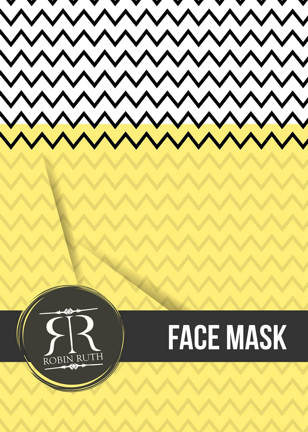 robin ruth face mask logo